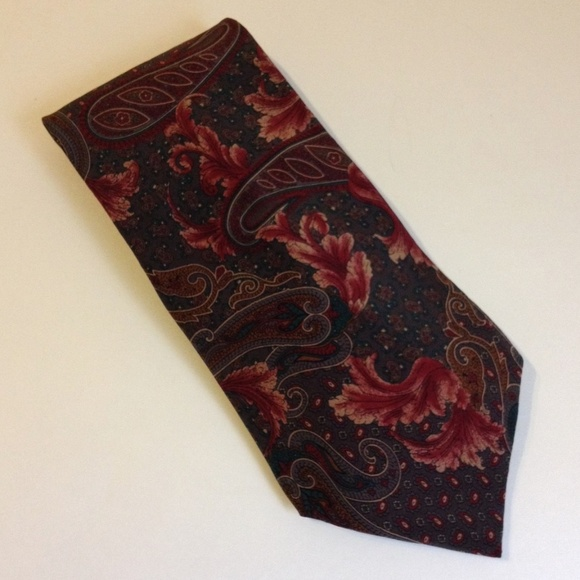 Mallory & Church Ltd Other - Mallory & Church Floral Paisley Neck Tie 100% Silk